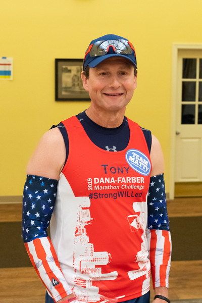 2019 Dana-Farber Marathon Challenge (DFMC) Start Line on Monday April 15th in Hopkinton.