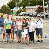 The Dana-Farber team at the Falmouth Road Race, August 18, 2019.