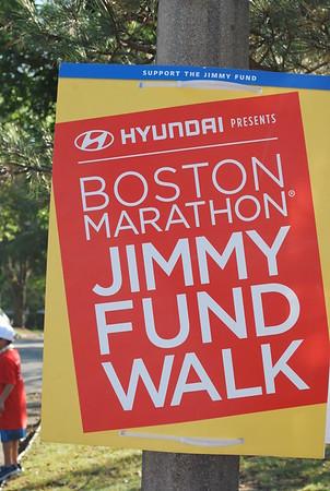 Dana Farber Jimmy Fund Walk, September 24, 2017