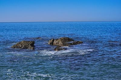 Rocks off Breakwater