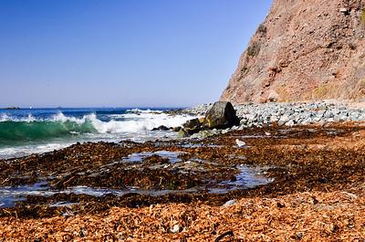 Base of Cliff ... Rock Beach