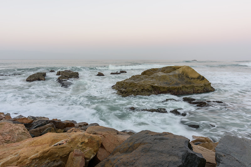 Early morning high tide
