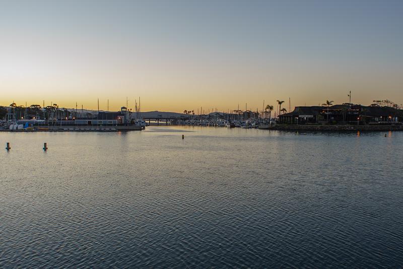 Dana Point Harbor PreSunrise 4-17-16