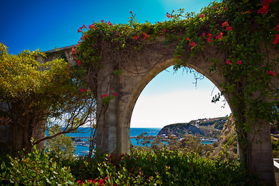 Arches over Dana Point Harbor, CA