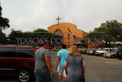 Blake, Maverick, Mason, Kaitlyn 1st Communion mass 05-22-11
