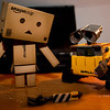 danbo: unless your hand breaks off..<br /> wall-e: sigh.. wall-e :(
