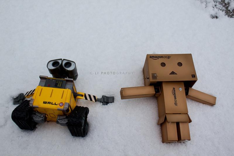 danbo: let's make snow angels