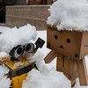 danbo: sucker..<br /> wall-e: wall-e.... :(