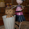 danbo: thanks for the ride miss bicycle woman