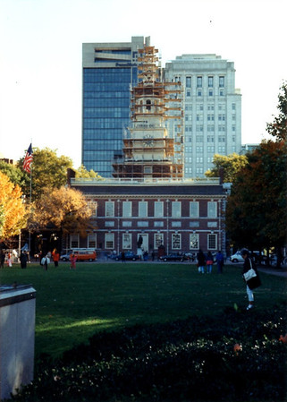 Arnold Resigns His Commission (Independence Hall)