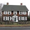 This house, at 228 Black Rock Turnpike, is directly across the street from the marker. It was built in 1746. Perhaps British and/or American Generals used it while their troops rested at the Green?