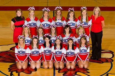 SCHS Cheerleaders 2011 2012