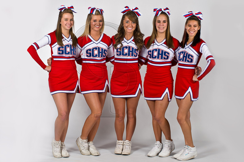 SCHS Cheerleaders 2011 2012