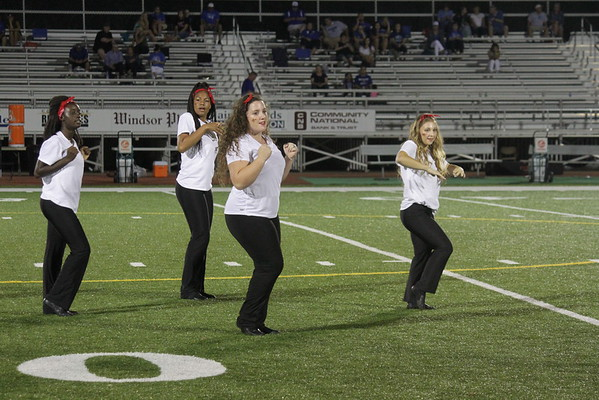 Dance 2015-2016 Game Performances