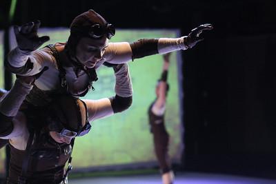 Course of Empire - rehearsal shoot - Breakbone Dance Co - 2010