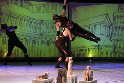 2010 Course of Empire performance. Photo by Carl Wiedemann.