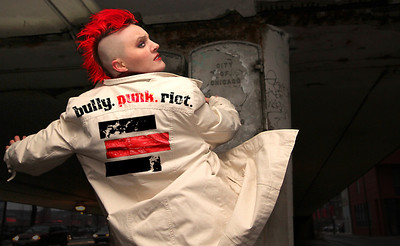 bully.punk.riot.'s Atalee Judy. Photo by Carl Wiedemann 2013