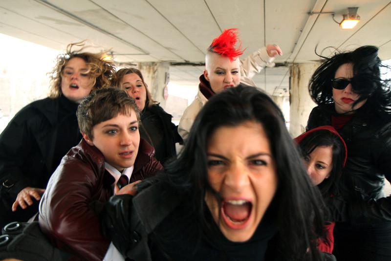 BONEdanse troupe. Photo by Carl Wiedemann 2013.