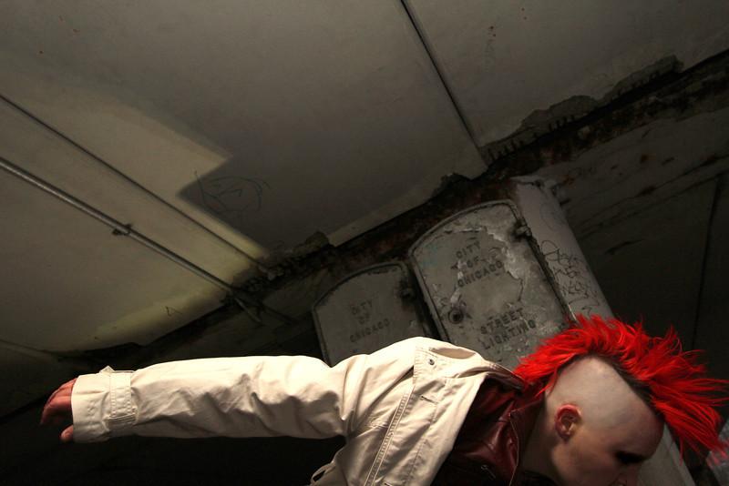 BONEdanse artistic director, Atalee Judy for bully.punk.riot. Photo by Carl Wiedemann 2013.