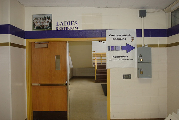LWHS 2007 Dance/Drill Invitational - school prep