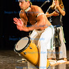Energetic drumming for the Capoeria