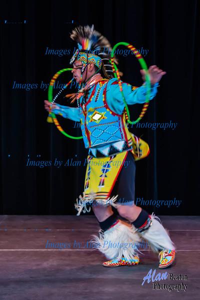 Alex Wells and Hoop Dance