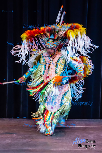 Alex Wells Traditional Lil'Wat Nation Danced