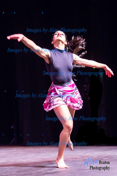 World Dance Festival 2014 - Melany from Grupo America performing a contemporary piece