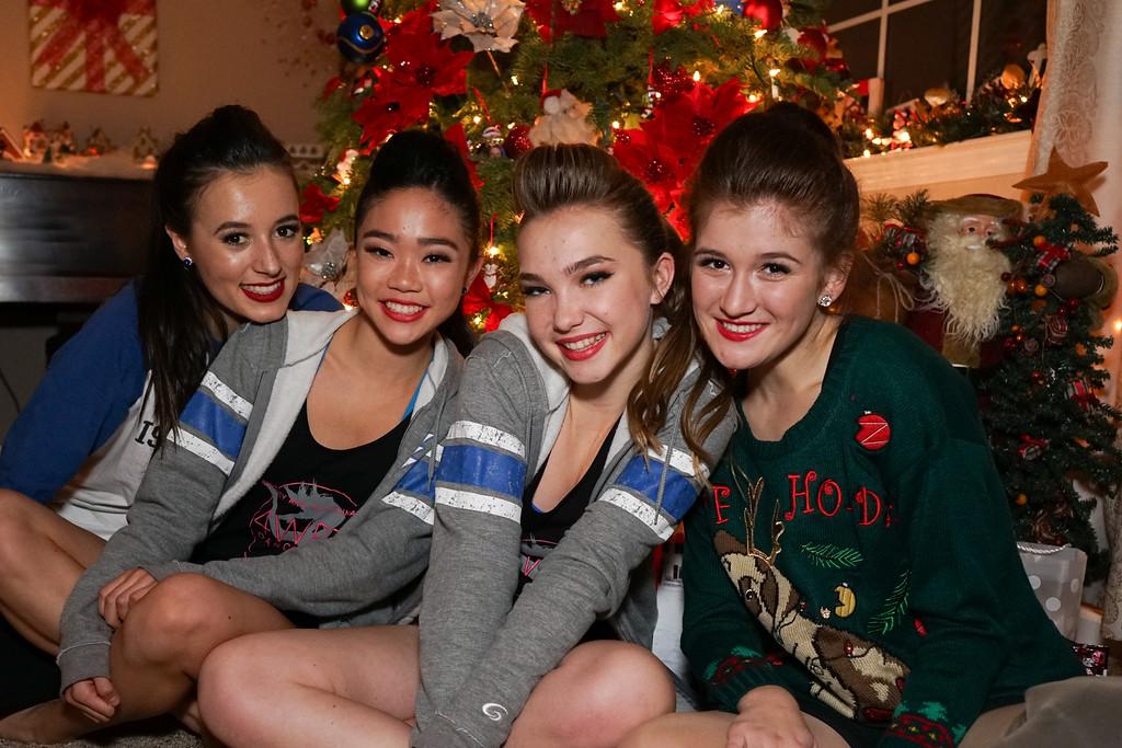 Dance Team Christmas Party