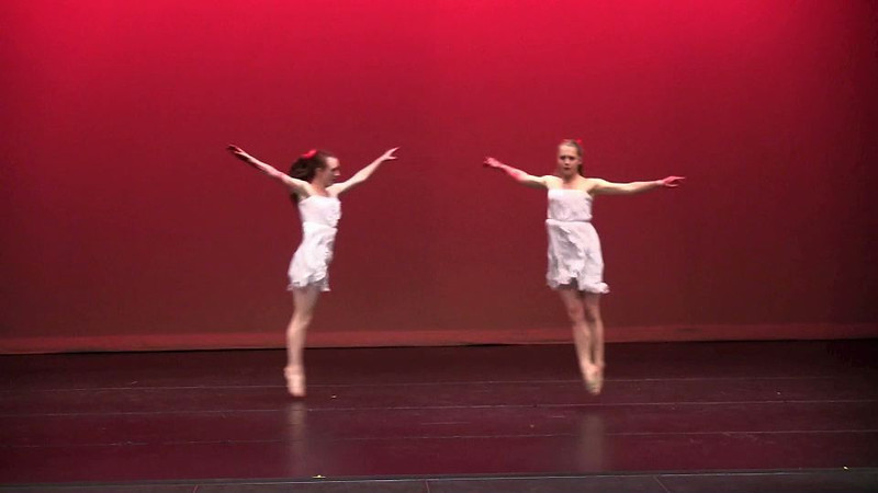 This was a great dance that Kelli and Megan choreographed, but fair warning - it's a little creepy.