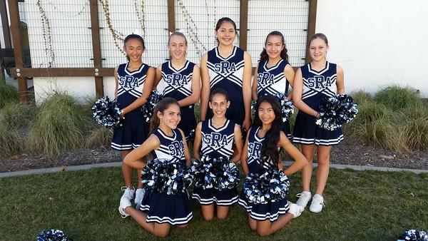 Dance team 2014-2015