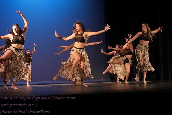 17 Temescal Canyon HS Dance Team Spring Recital, Rehersal I