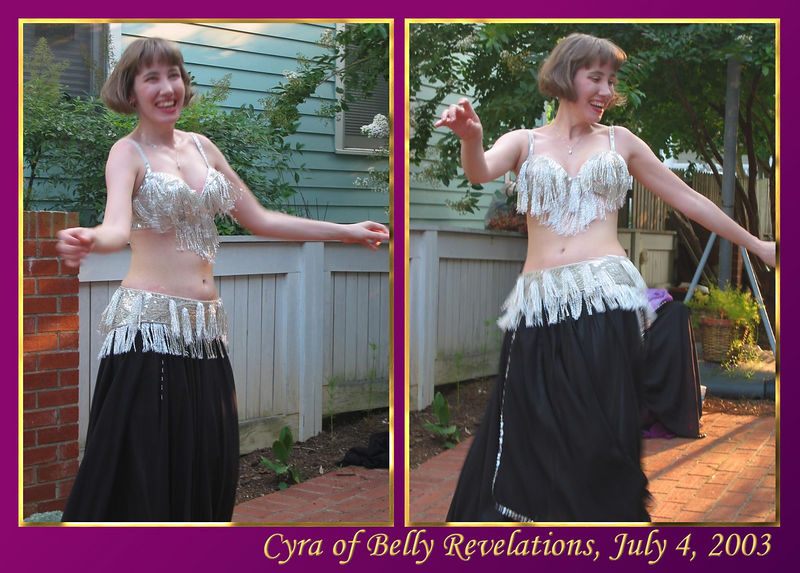 00aFavorite Cyra dancing [images 8227 and 8225, borders, gradient fill, text]