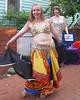 Bedriyyah and Cyra dancing