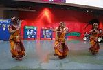 A trio dancing