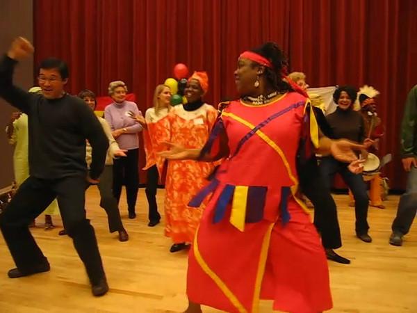 20080224 Elikem Afr Dance Co, UNC Intl Frndshp Pgm Video 12 of 14