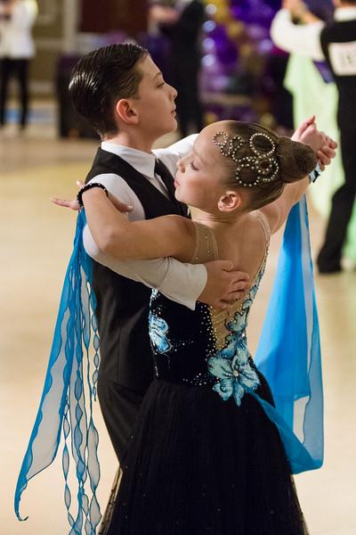 Standard dancers at Nyemchek's  Dance Sport Championships