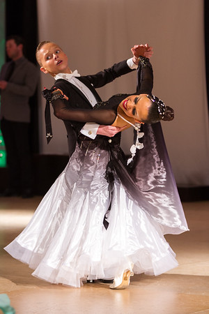 Standard dancers competing at Tristate Dancesport Championship in Stamford, CT on March 23 2014