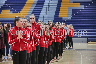 2016-12-06 Metro West Conf Dance Meet @ Kennedy