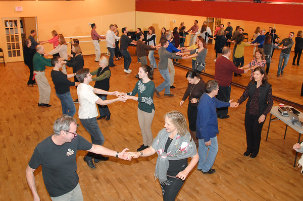 West Coast Swing at Dance Dimensions in Norwalk, CT on January 11, 2018