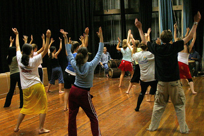 9/29/06 African Dance Workshop