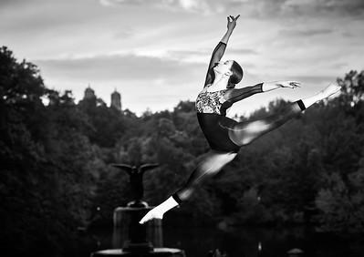 May 10, 2019 - New York, NY  Dancer Abby Fuller in Central Park  Photographer- Robert Altman Post-production- Robert Altman