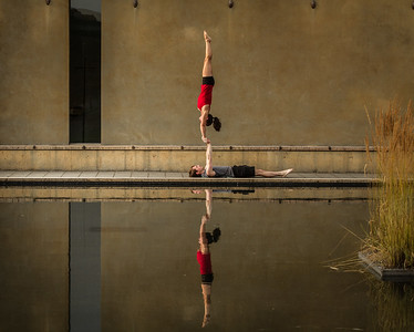 Acro at the Reflection Pool