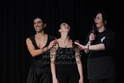 Luis Arreguin, Karla Rabling, and Agnieszka Laska