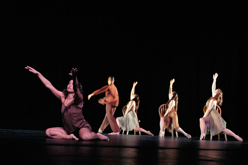 Songs of Eva by Agnieszka Laska, performed at PSU Lincoln Hall Oct. 8-9-10, 2004