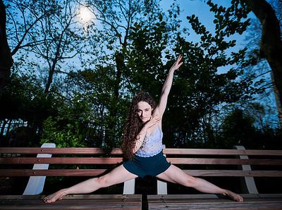 June 1, 2019 - New York, NY  Dancer Alex Tenreiro Theis captured along  New York's Upper East Side  Photographer- Robert Altman Post-production- Robert Altman