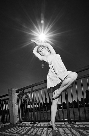 June 22, 2019 - New York, NY  Dancer Allie Marie Hutchins captured in New York's Roosevelt Island  Photographer- Robert Altman Post-production- Robert Altman