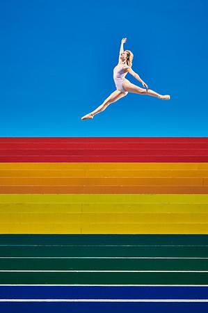 June 22, 2019 - New York, NY  Dancer Allie Marie Hutchins captured in New York's Roosevelt Island  Photographer- Robert Altman Post-production- Robert Altman