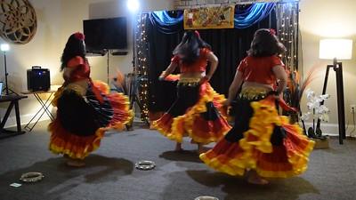 Kasilama; Skirt & Tambourine