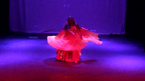 Amara Al Amir in Fire Veil